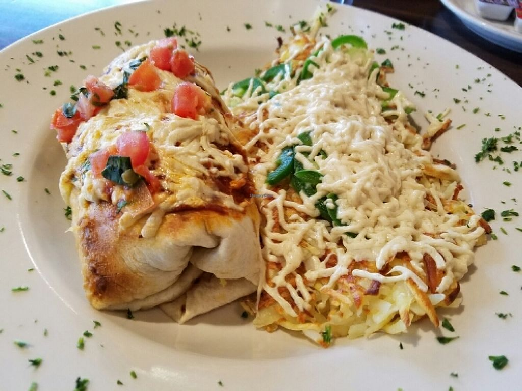 """Photo of Pizza Luce  by <a href=""""/members/profile/EverydayTastiness"""">EverydayTastiness</a> <br/>vegan buckaroo breakfast burrito  <br/> March 19, 2016  - <a href='/contact/abuse/image/66022/140583'>Report</a>"""