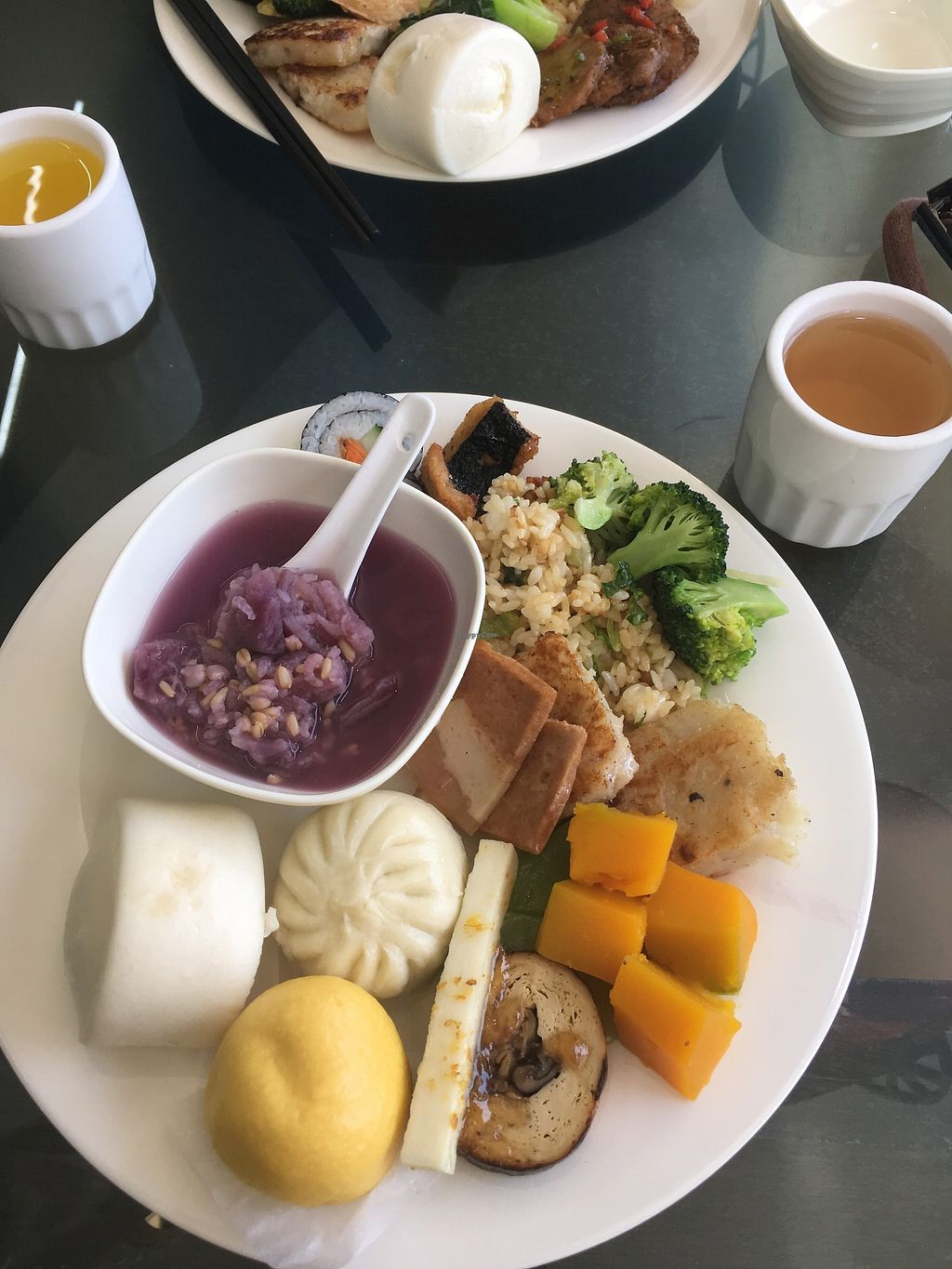 "Photo of Dengpin Vegetarian Foods  by <a href=""/members/profile/jojoinbrighton"">jojoinbrighton</a> <br/>Buffet plate  <br/> November 7, 2017  - <a href='/contact/abuse/image/6603/322870'>Report</a>"