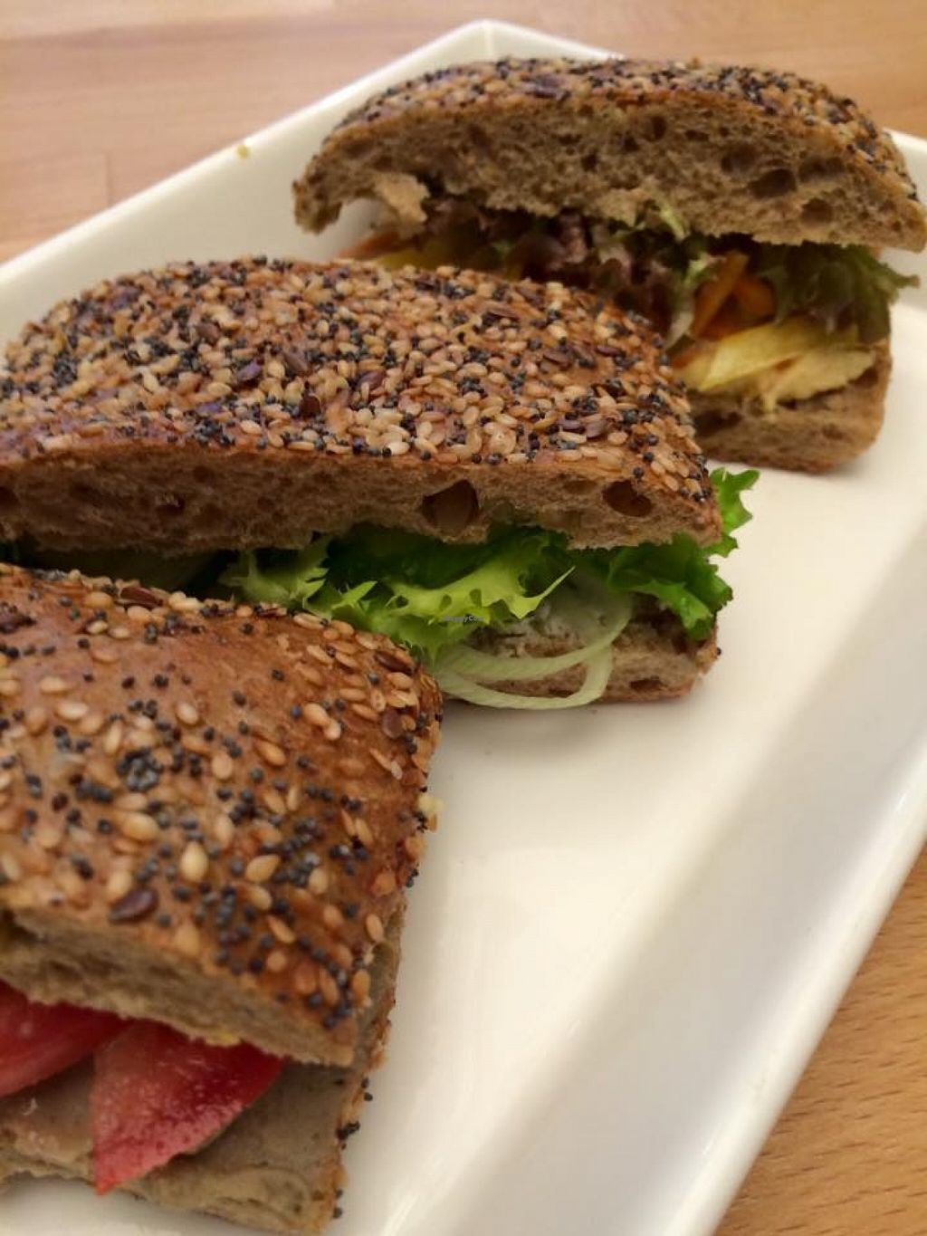 """Photo of Frisch & Veg  by <a href=""""/members/profile/community"""">community</a> <br/>veggie sandwiches  <br/> December 3, 2015  - <a href='/contact/abuse/image/66064/126989'>Report</a>"""