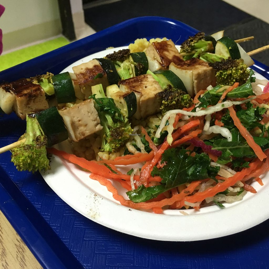 """Photo of Purple Sprout Cafe  by <a href=""""/members/profile/Tiger111333999"""">Tiger111333999</a> <br/>vegan kebab  <br/> March 9, 2016  - <a href='/contact/abuse/image/66067/139469'>Report</a>"""