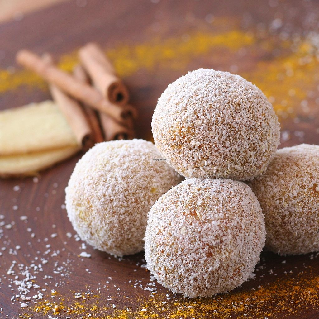 """Photo of Earthly Delights Stall  by <a href=""""/members/profile/Yasminenazmy"""">Yasminenazmy</a> <br/>Ginger truffles <br/> July 16, 2017  - <a href='/contact/abuse/image/66071/281123'>Report</a>"""