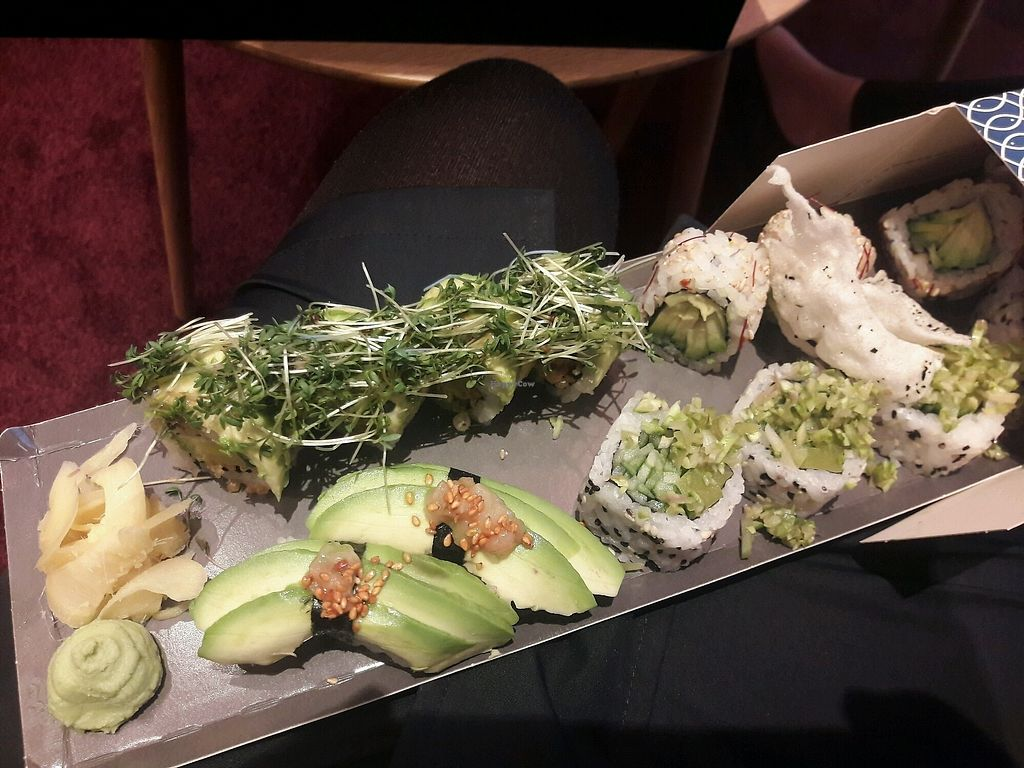 """Photo of Karma Sushi  by <a href=""""/members/profile/piffelina"""">piffelina</a> <br/>Beautiful (and expensive) take away <br/> December 3, 2017  - <a href='/contact/abuse/image/66072/331703'>Report</a>"""