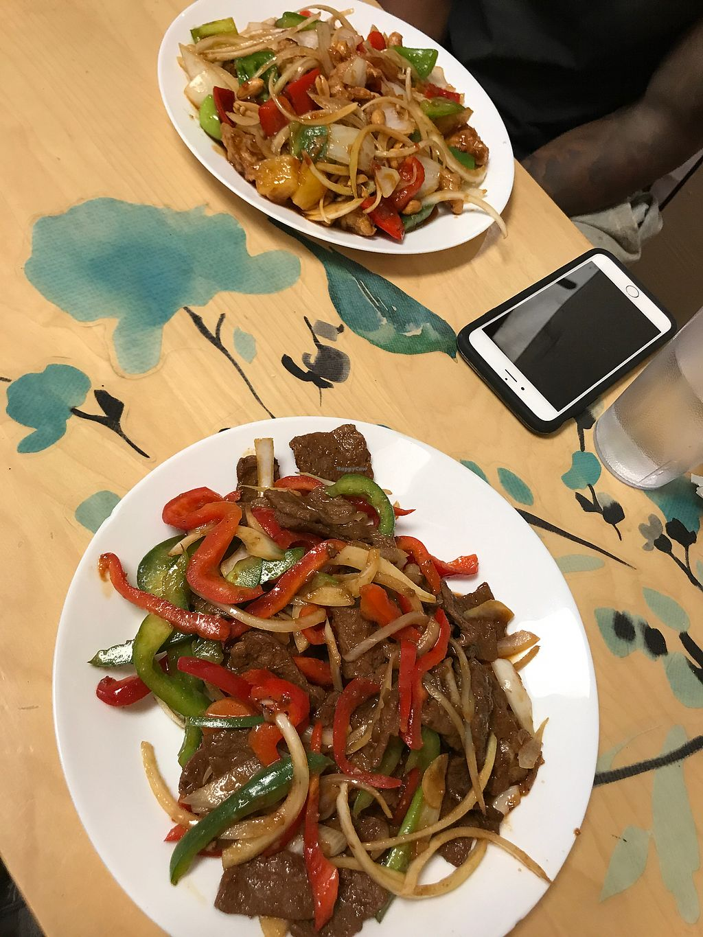 """Photo of Loving Hut  by <a href=""""/members/profile/kamisha05"""">kamisha05</a> <br/>Mongolian Beef and Kung Poa Chicken  <br/> September 24, 2017  - <a href='/contact/abuse/image/66087/307674'>Report</a>"""