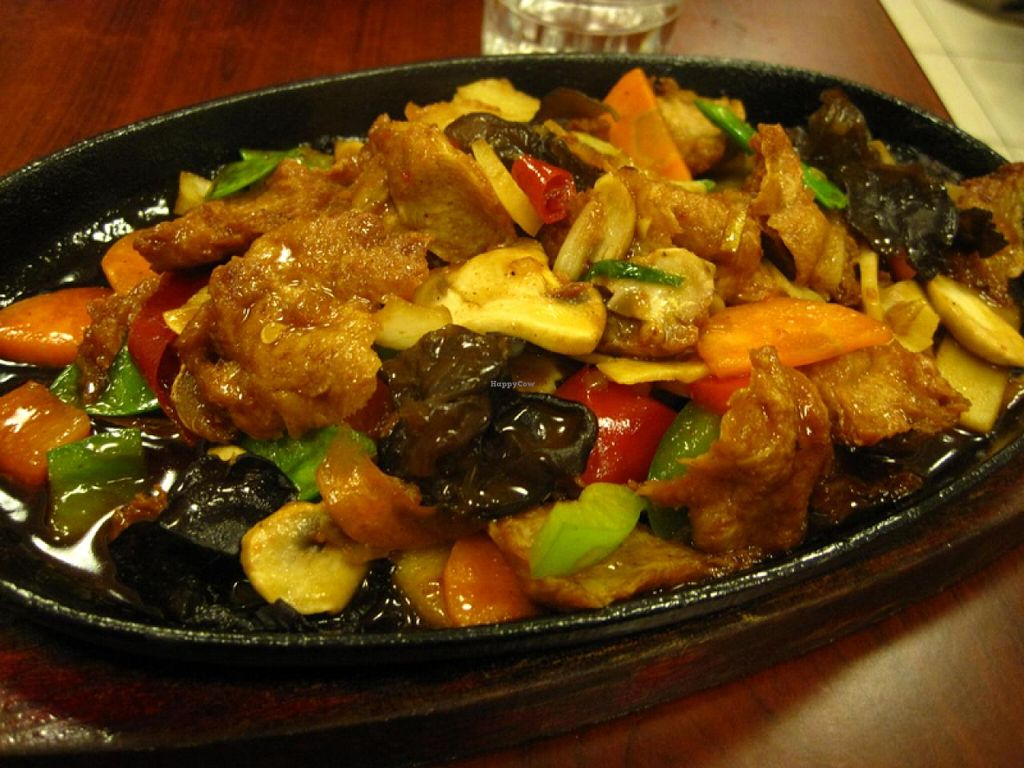 "Photo of Tien Hiang - rue Bichat  by <a href=""/members/profile/Babette"">Babette</a> <br/>Grilled 'chicken' on sizzling plate. Very yummy, a little on the sweet side, but nothing overwhelming <br/> March 3, 2015  - <a href='/contact/abuse/image/6609/94783'>Report</a>"