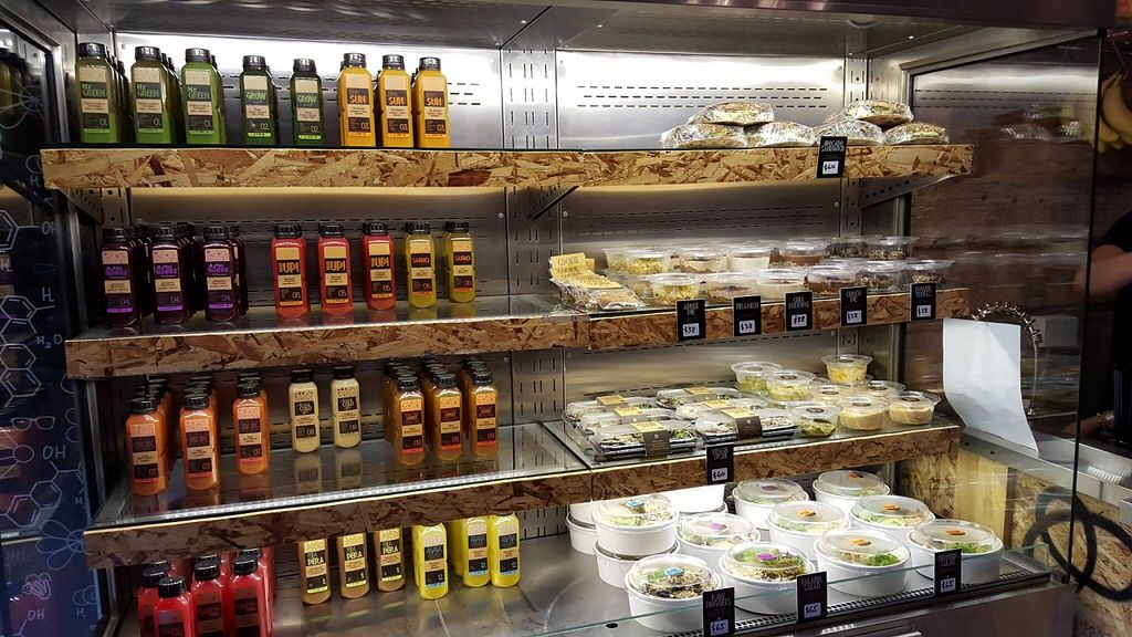"Photo of JU  by <a href=""/members/profile/e37e"">e37e</a> <br/>Cold-press juice bar and vegan take out food with plenty of raw options. Thumbs up! <br/> November 28, 2015  - <a href='/contact/abuse/image/66100/126470'>Report</a>"