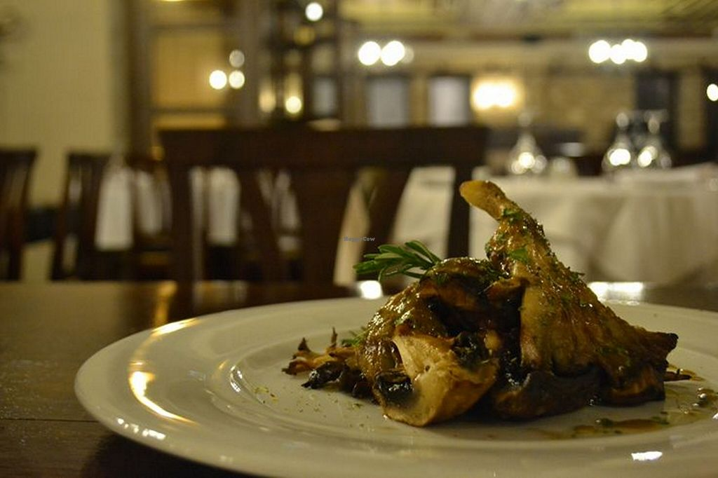 """Photo of Ktima Bellou Restaurant  by <a href=""""/members/profile/afroditib"""">afroditib</a> <br/>Mix of grilled mushrooms_Courtesy of Eat & Walk Thessaloniki <br/> November 21, 2015  - <a href='/contact/abuse/image/66104/125681'>Report</a>"""