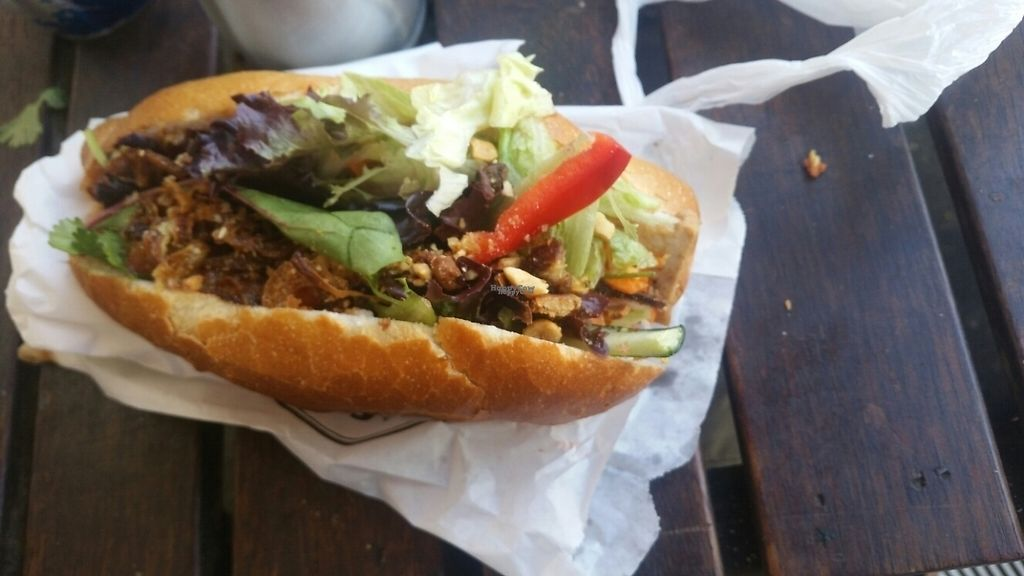 """Photo of Trang Bakery and Cafe  by <a href=""""/members/profile/KatieBatty"""">KatieBatty</a> <br/>Lemongrass tofu roll <br/> January 29, 2017  - <a href='/contact/abuse/image/66121/218807'>Report</a>"""