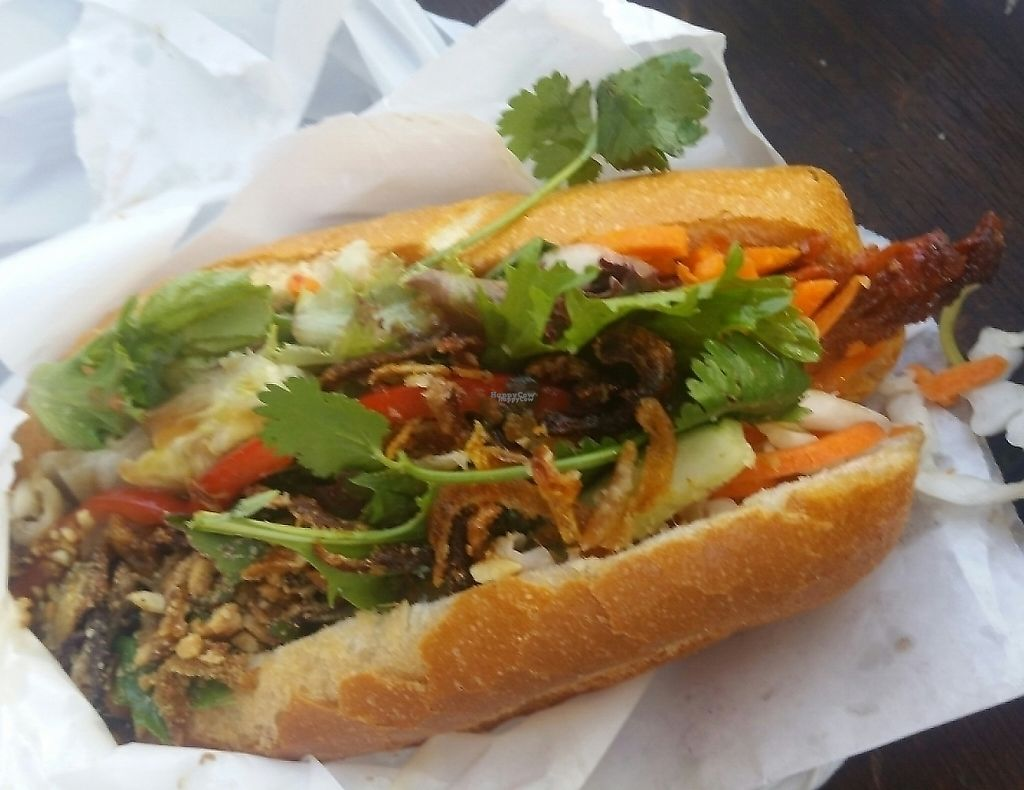 """Photo of Trang Bakery and Cafe  by <a href=""""/members/profile/KatieBatty"""">KatieBatty</a> <br/>Vegan roast duck roll <br/> January 29, 2017  - <a href='/contact/abuse/image/66121/256646'>Report</a>"""