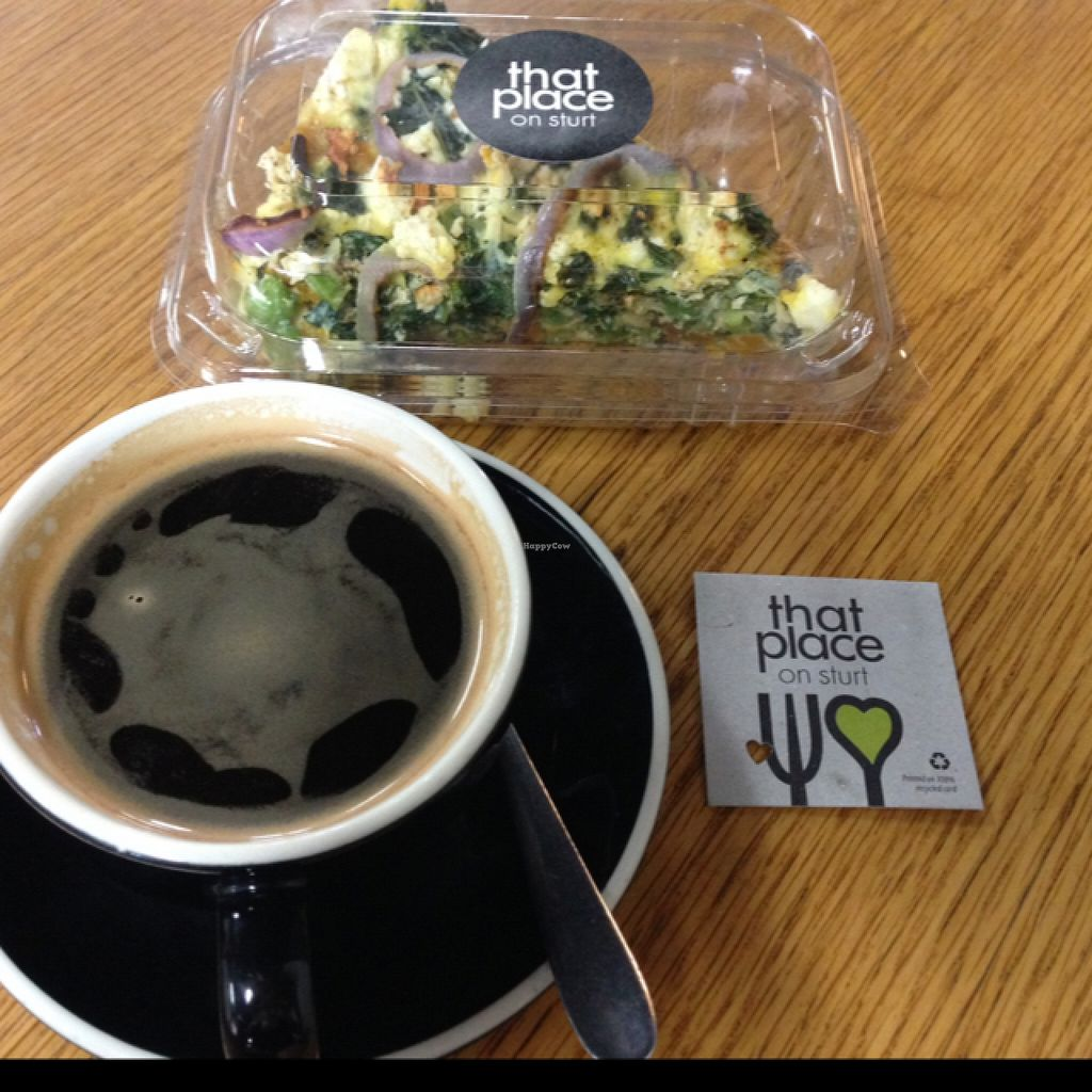 """Photo of That Place on Sturt  by <a href=""""/members/profile/Jessicawright"""">Jessicawright</a> <br/>Kale frittata and long black <br/> November 21, 2015  - <a href='/contact/abuse/image/66126/125718'>Report</a>"""