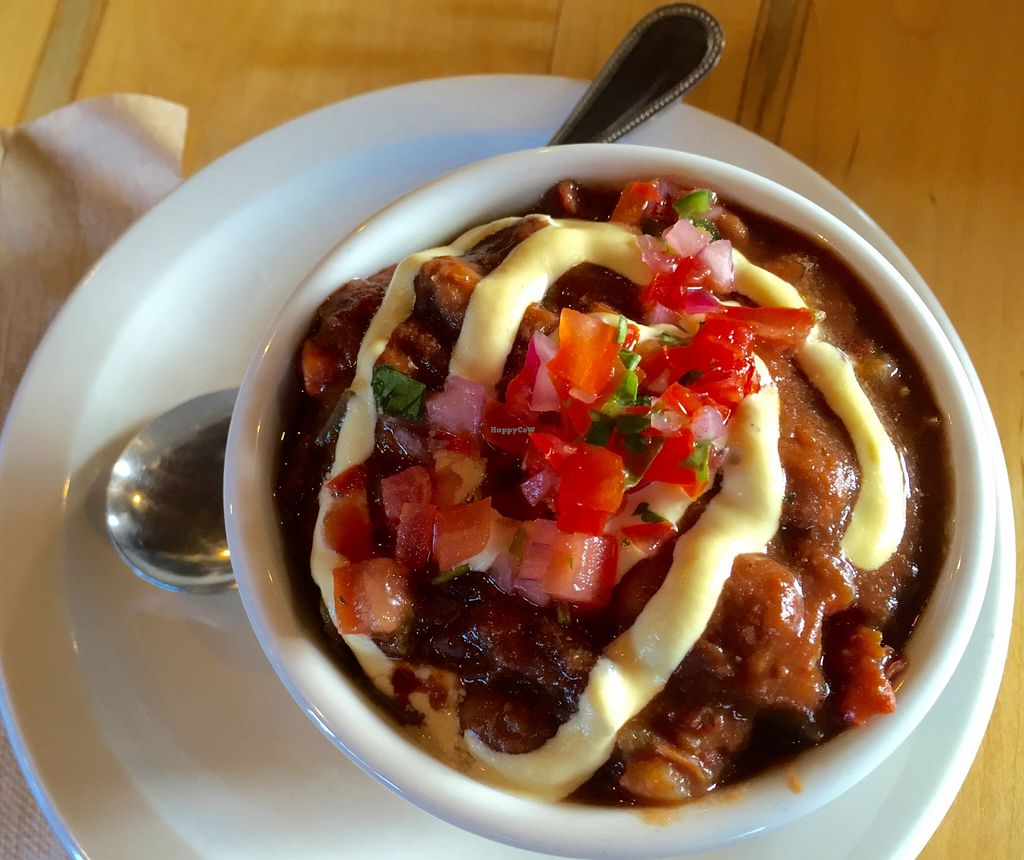 """Photo of CLOSED: Nectar  by <a href=""""/members/profile/LaurenV"""">LaurenV</a> <br/>Chili with avocado cream and pico <br/> December 4, 2015  - <a href='/contact/abuse/image/66136/127105'>Report</a>"""