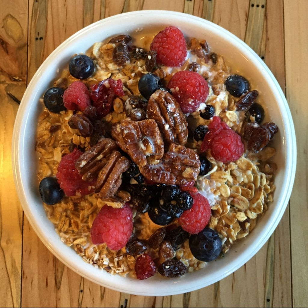 """Photo of CLOSED: Nectar  by <a href=""""/members/profile/simguy05"""">simguy05</a> <br/>Toasted Granola in Homemade Nut Milk <br/> March 26, 2016  - <a href='/contact/abuse/image/66136/141373'>Report</a>"""
