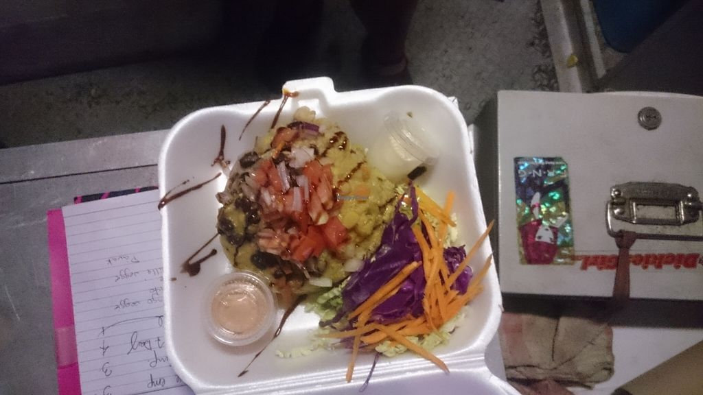 """Photo of Bistro del Mar Food Truck  by <a href=""""/members/profile/toppavak"""">toppavak</a> <br/>Veggie mofongo <br/> November 23, 2015  - <a href='/contact/abuse/image/66165/125942'>Report</a>"""
