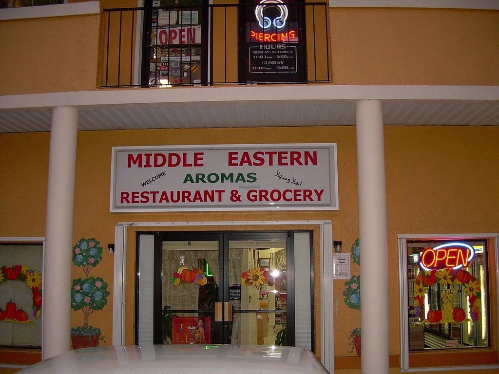 "Photo of Middle Eastern Aromas Restaurant and Grocery  by <a href=""/members/profile/community"">community</a> <br/>Facade <br/> December 14, 2015  - <a href='/contact/abuse/image/66178/128472'>Report</a>"