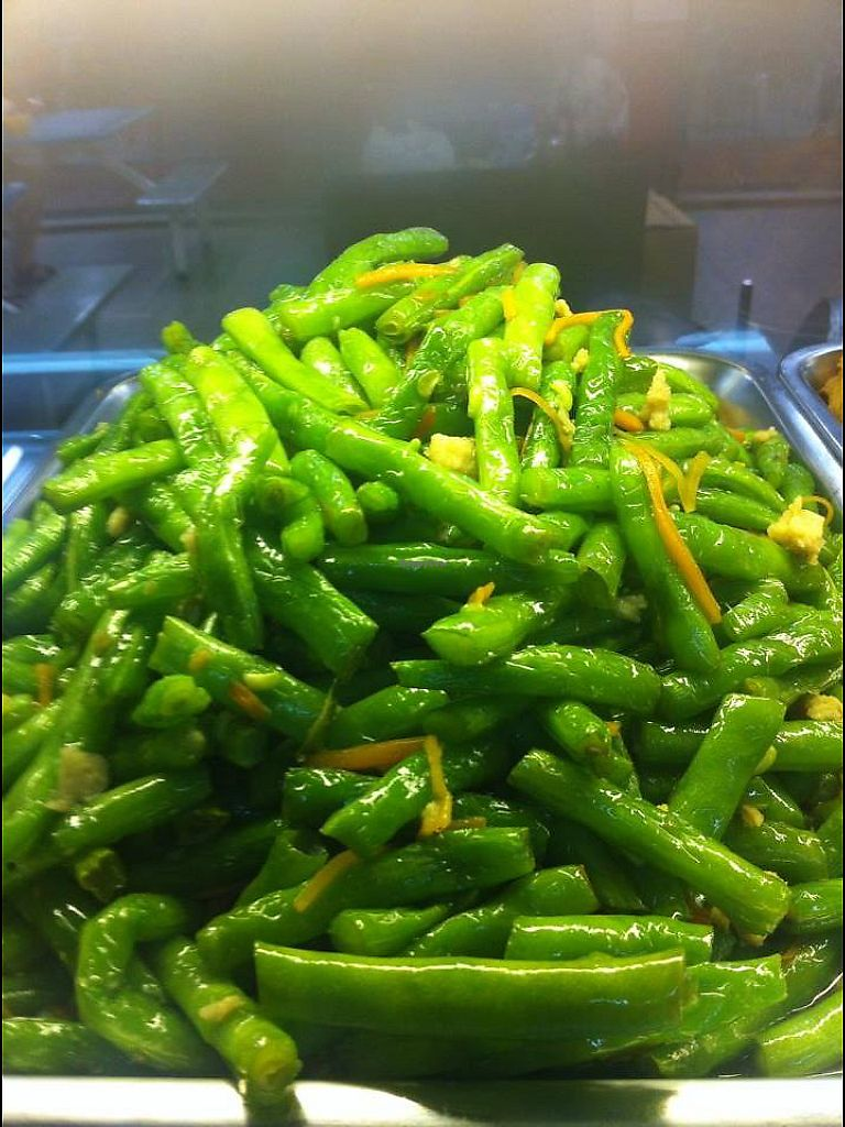 """Photo of Dao of Vegetarian - Marine Parade  by <a href=""""/members/profile/NgKuanGiapKevin"""">NgKuanGiapKevin</a> <br/>Stir fry long beans  <br/> June 22, 2017  - <a href='/contact/abuse/image/66189/272206'>Report</a>"""