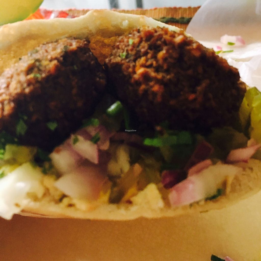 "Photo of CLOSED: Falafel Bar  by <a href=""/members/profile/DaniellaD"">DaniellaD</a> <br/>pita! sooooo delicious <br/> February 15, 2016  - <a href='/contact/abuse/image/66207/136501'>Report</a>"
