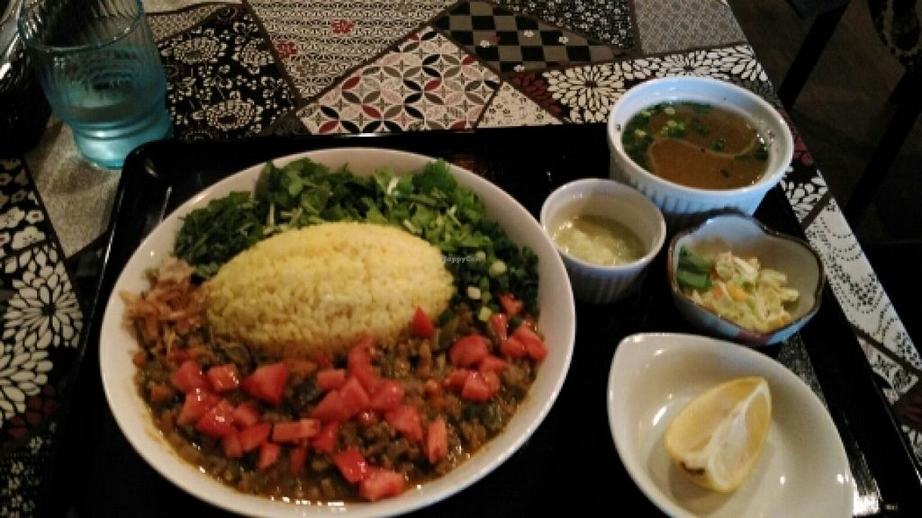 """Photo of Sumida River Kitchen  by <a href=""""/members/profile/Rbaleiro"""">Rbaleiro</a> <br/>vegan curry  <br/> November 24, 2015  - <a href='/contact/abuse/image/66213/126063'>Report</a>"""