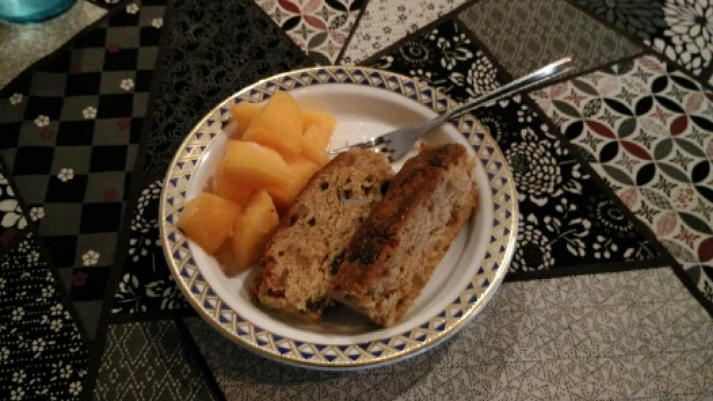 """Photo of Sumida River Kitchen  by <a href=""""/members/profile/Rbaleiro"""">Rbaleiro</a> <br/>chamomile cake with frozen mango  <br/> November 24, 2015  - <a href='/contact/abuse/image/66213/126064'>Report</a>"""