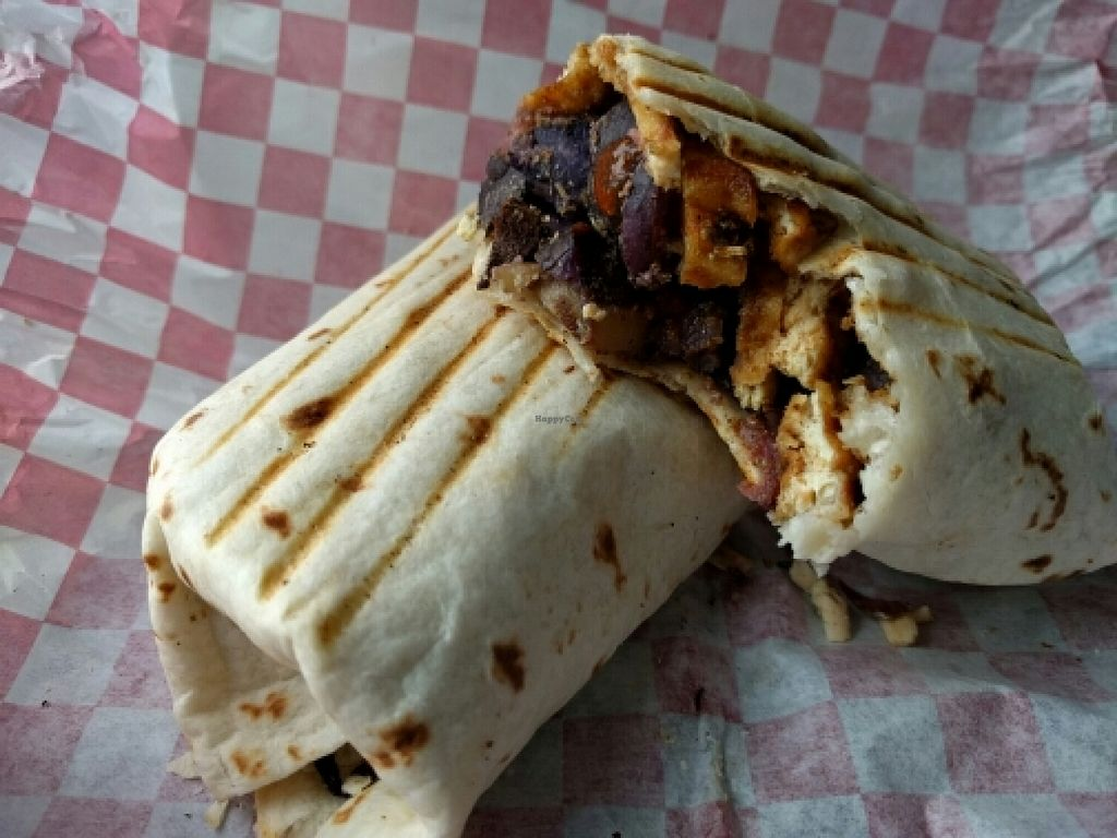 """Photo of CLOSED: 701 Coffee  by <a href=""""/members/profile/The%20Hungry%20Vegan"""">The Hungry Vegan</a> <br/>Breakfast Burrito <br/> January 16, 2016  - <a href='/contact/abuse/image/66227/132657'>Report</a>"""