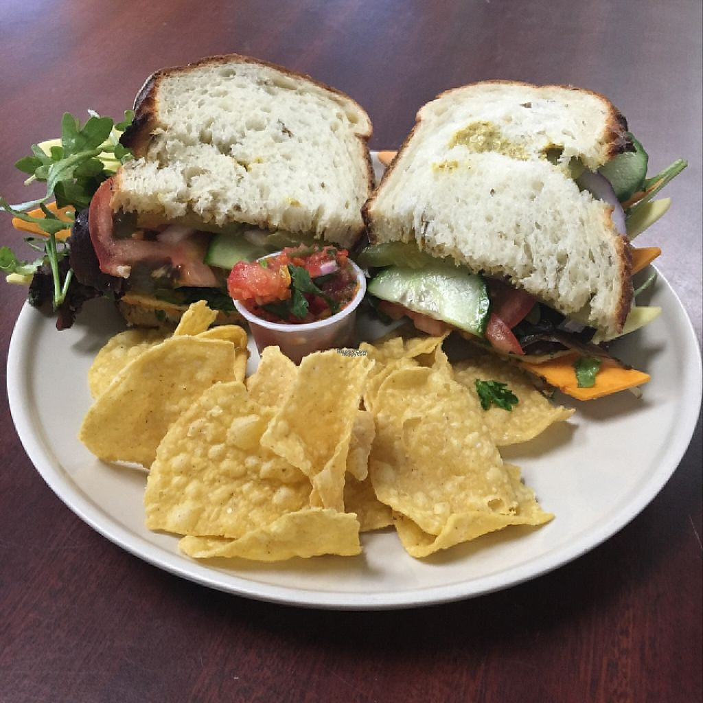 """Photo of CLOSED: 701 Coffee  by <a href=""""/members/profile/Veg4Jay"""">Veg4Jay</a> <br/>""""Cheese"""" Sammich <br/> January 17, 2017  - <a href='/contact/abuse/image/66227/212873'>Report</a>"""