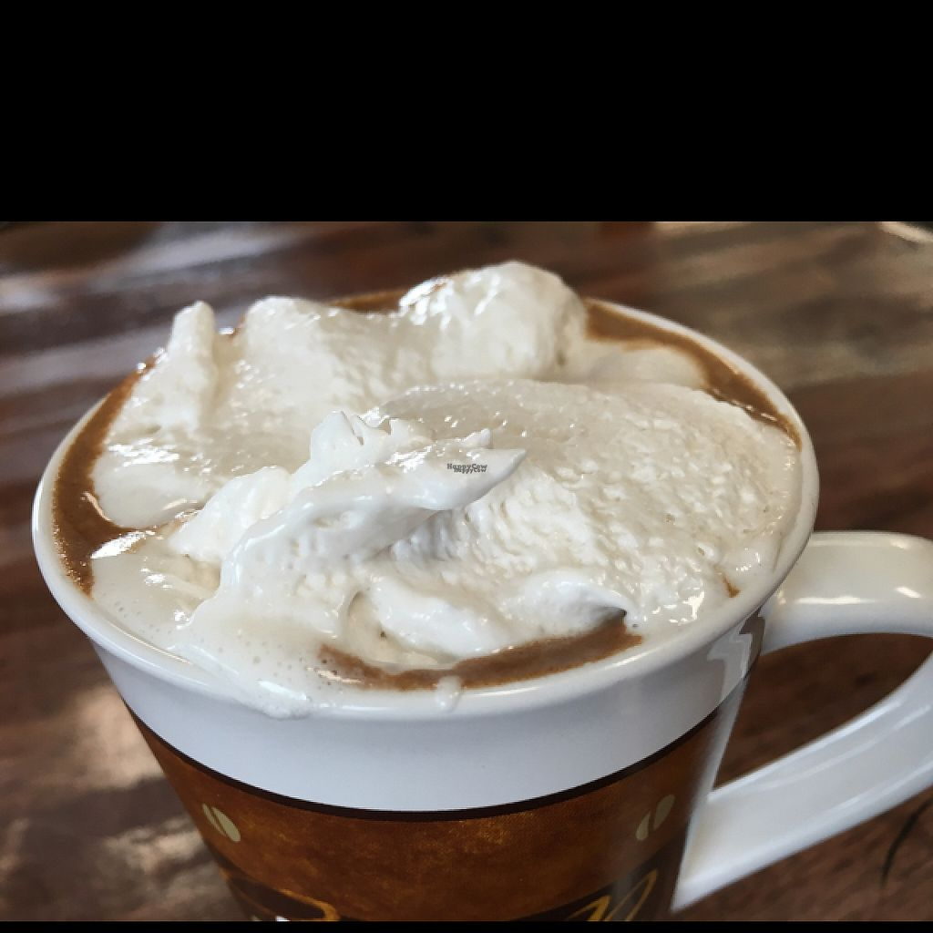 """Photo of CLOSED: 701 Coffee  by <a href=""""/members/profile/Veg4Jay"""">Veg4Jay</a> <br/>Vegan Mocha with Vegan Whip <br/> March 22, 2017  - <a href='/contact/abuse/image/66227/239581'>Report</a>"""