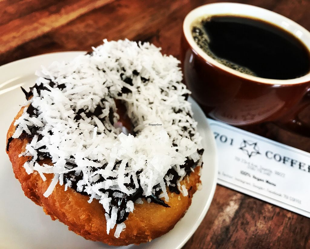 """Photo of CLOSED: 701 Coffee  by <a href=""""/members/profile/SarasMae"""">SarasMae</a> <br/>Home made donut  <br/> July 23, 2017  - <a href='/contact/abuse/image/66227/283484'>Report</a>"""