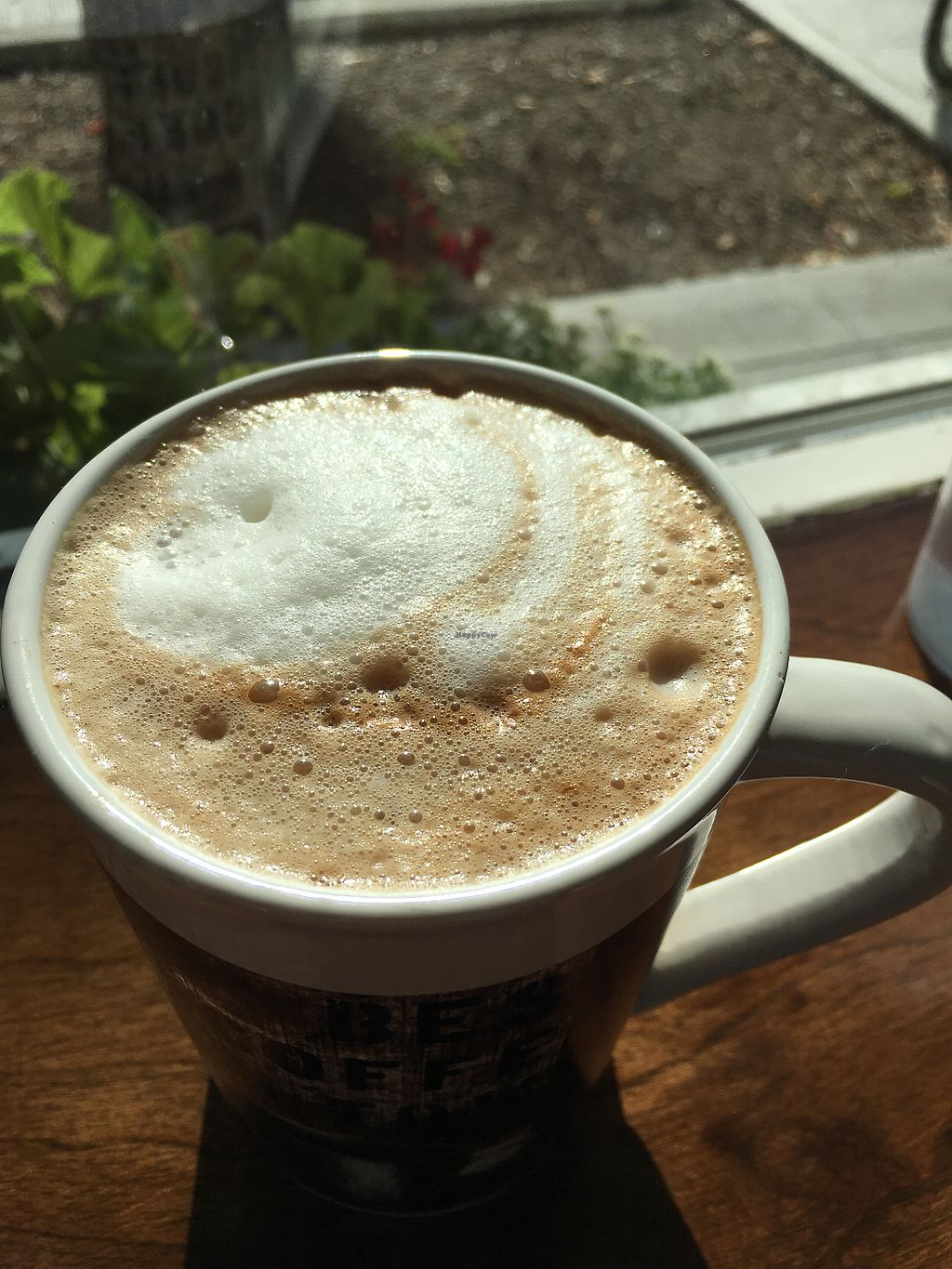 """Photo of CLOSED: 701 Coffee  by <a href=""""/members/profile/Veg4Jay"""">Veg4Jay</a> <br/>Hazelnut Mocha w/ Almond Milk <br/> August 19, 2017  - <a href='/contact/abuse/image/66227/294396'>Report</a>"""