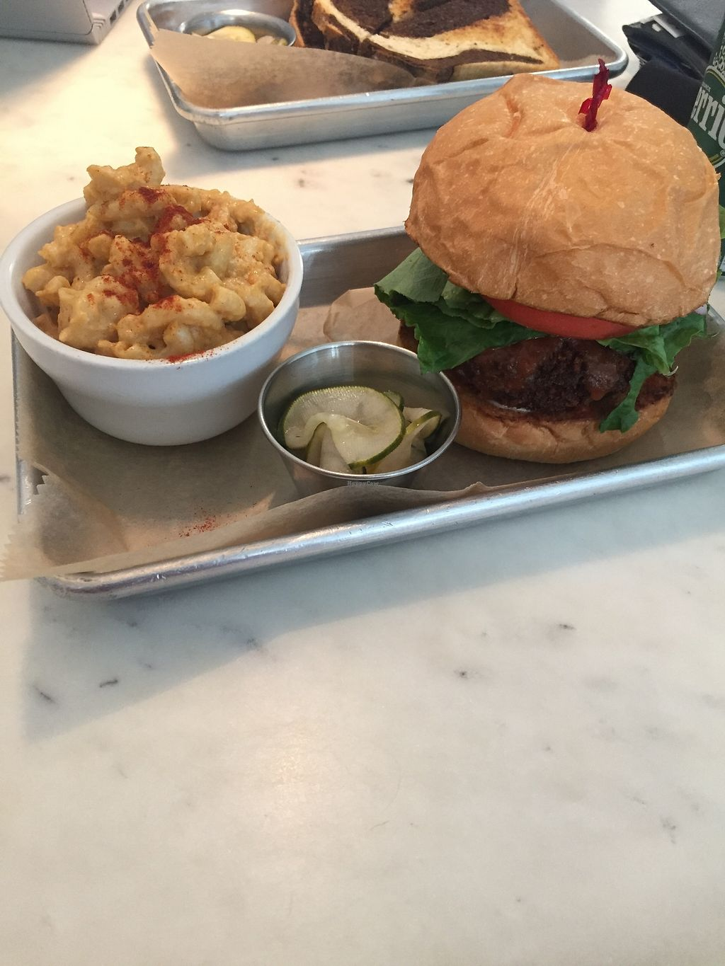 "Photo of Gnome Cafe  by <a href=""/members/profile/KaitlynnGill"">KaitlynnGill</a> <br/>Fried seitan and Mac  <br/> July 31, 2017  - <a href='/contact/abuse/image/66249/287323'>Report</a>"