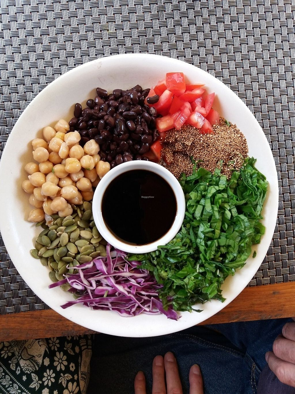"""Photo of Jalus   by <a href=""""/members/profile/veganvirtues"""">veganvirtues</a> <br/>3 Bean salad and 3 shredded salad <br/> May 23, 2017  - <a href='/contact/abuse/image/66258/261702'>Report</a>"""