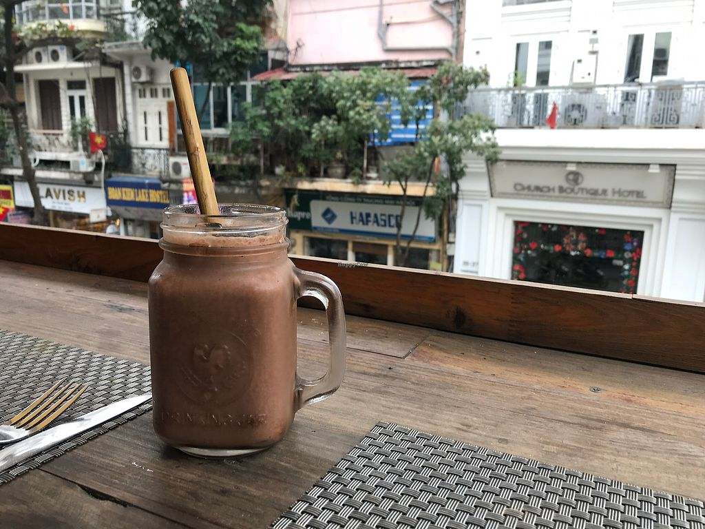 """Photo of Jalus   by <a href=""""/members/profile/lizzycat"""">lizzycat</a> <br/>delicious energy buster with reusable straw! <br/> January 7, 2018  - <a href='/contact/abuse/image/66258/343931'>Report</a>"""