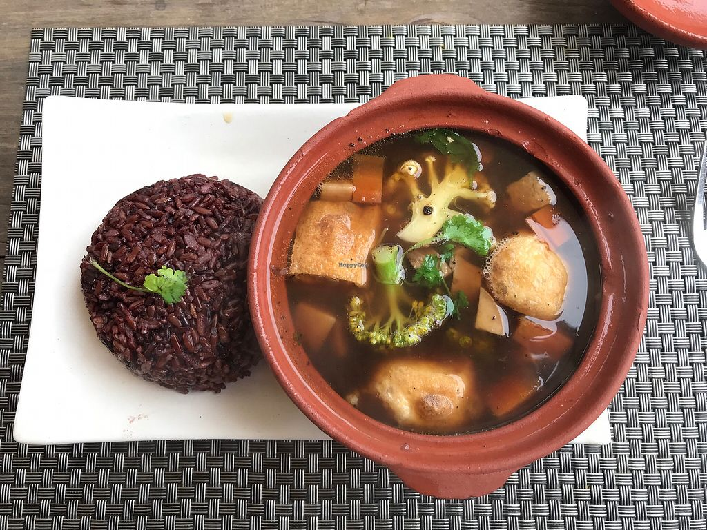 """Photo of Jalus   by <a href=""""/members/profile/lizzycat"""">lizzycat</a> <br/>braised tofu and black rice, yummoooo <br/> January 7, 2018  - <a href='/contact/abuse/image/66258/343932'>Report</a>"""