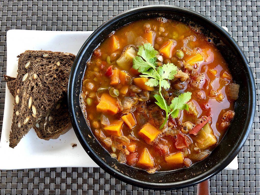 """Photo of Jalus   by <a href=""""/members/profile/OliFeiler"""">OliFeiler</a> <br/>Lentil Stew with Toast <br/> January 25, 2018  - <a href='/contact/abuse/image/66258/350750'>Report</a>"""