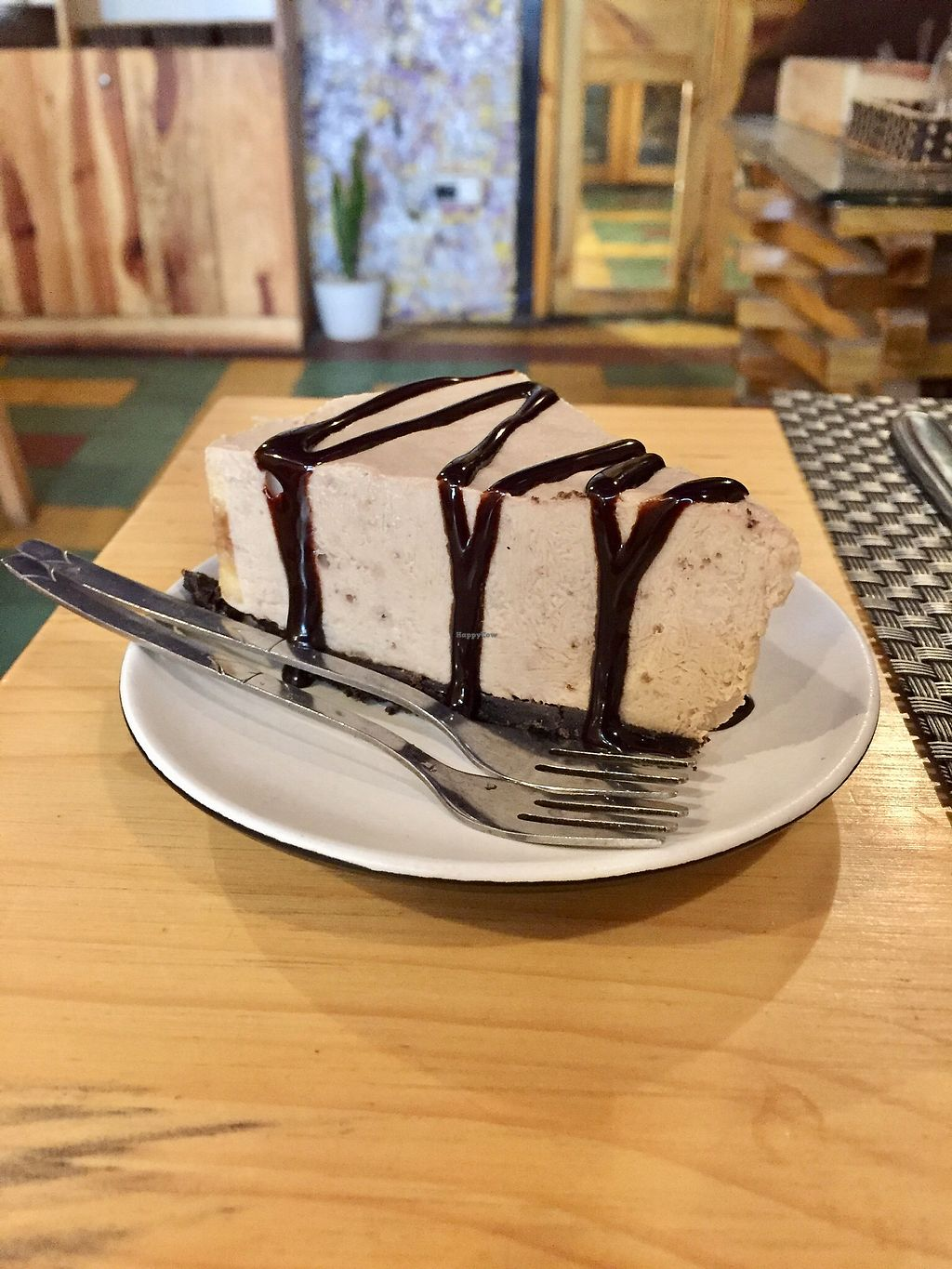 """Photo of Jalus   by <a href=""""/members/profile/kars10"""">kars10</a> <br/>Banana peanut butter chocolate 'cheese cake' <br/> February 2, 2018  - <a href='/contact/abuse/image/66258/353969'>Report</a>"""