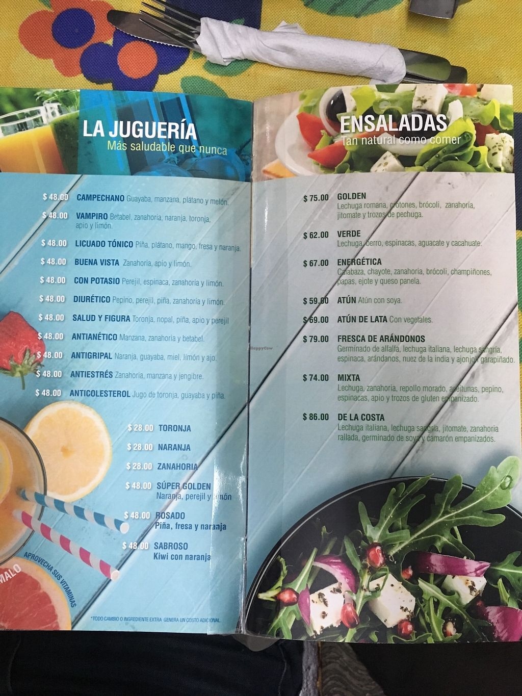 """Photo of Golden  by <a href=""""/members/profile/Moon%C3%ADqua"""">Mooníqua</a> <br/>Juices and salads --- jugos y ensaladas  <br/> March 5, 2018  - <a href='/contact/abuse/image/66274/367154'>Report</a>"""