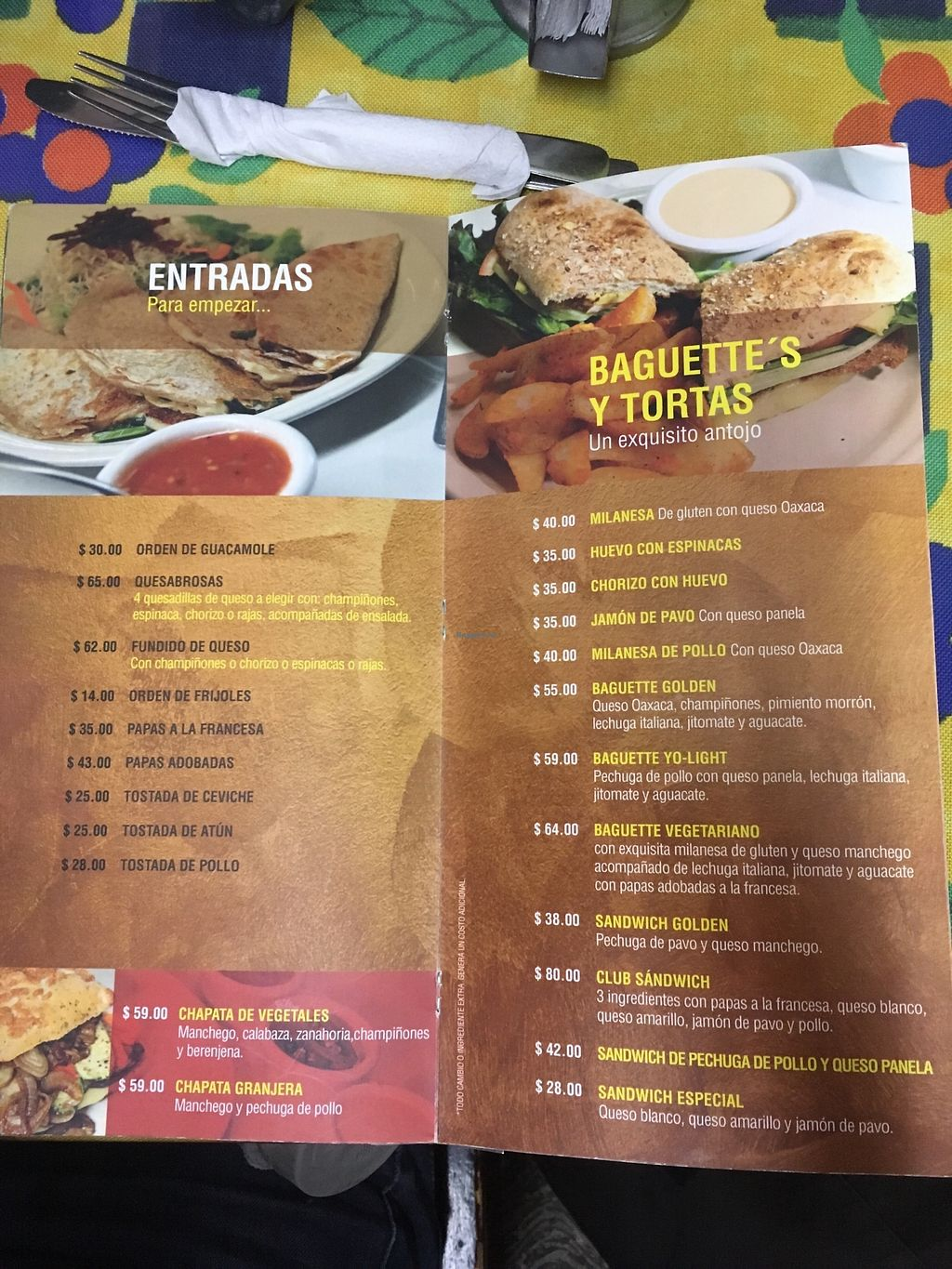 """Photo of Golden  by <a href=""""/members/profile/Moon%C3%ADqua"""">Mooníqua</a> <br/>Appearizers and tortas/sandwiches --- entradas y tortas/sandwiches  <br/> March 5, 2018  - <a href='/contact/abuse/image/66274/367155'>Report</a>"""