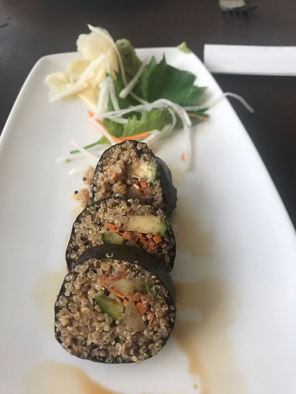 "Photo of Duo - Four Seasons Resort  by <a href=""/members/profile/Godfood"">Godfood</a> <br/>Quinoa sushi <br/> February 11, 2018  - <a href='/contact/abuse/image/66278/357661'>Report</a>"