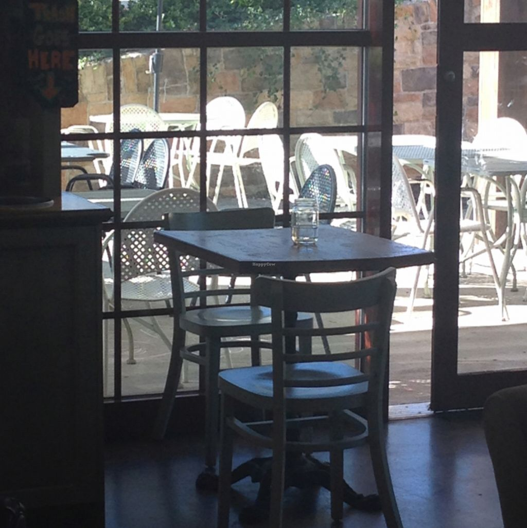 """Photo of The Urban Farmhouse Market and Cafe - Coalfield Commons Pl  by <a href=""""/members/profile/Sue262"""">Sue262</a> <br/>indoor and outdoor seating <br/> November 27, 2015  - <a href='/contact/abuse/image/66281/126322'>Report</a>"""