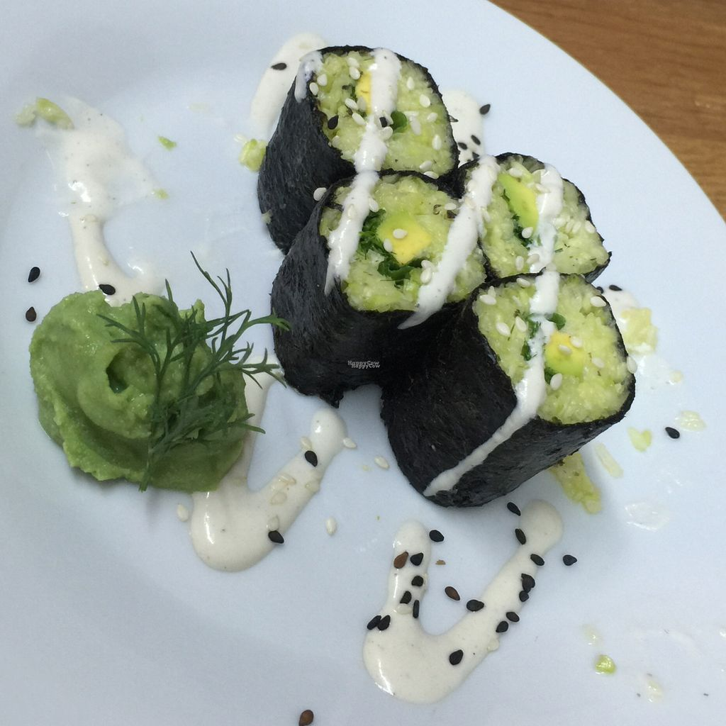 "Photo of Slivka  by <a href=""/members/profile/altegoist"">altegoist</a> <br/>raw sushi with squash <br/> August 28, 2016  - <a href='/contact/abuse/image/66295/171970'>Report</a>"