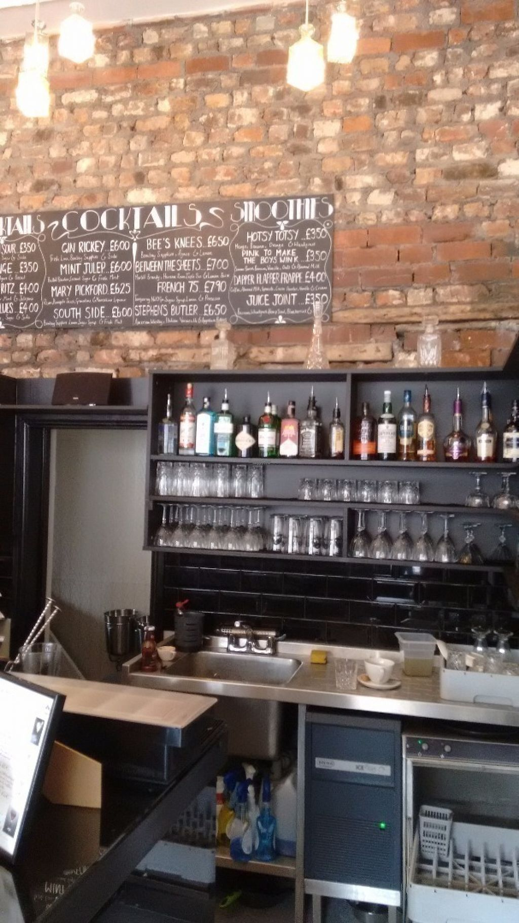 """Photo of CLOSED: Lolo's Vegan Restaurant & Bar  by <a href=""""/members/profile/craigmc"""">craigmc</a> <br/>Bar <br/> August 1, 2016  - <a href='/contact/abuse/image/66308/164140'>Report</a>"""
