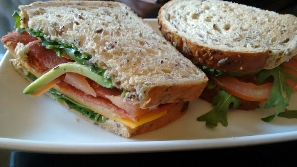 """Photo of CLOSED: Lolo's Vegan Restaurant & Bar  by <a href=""""/members/profile/craigmc"""">craigmc</a> <br/>club sandwich <br/> December 30, 2016  - <a href='/contact/abuse/image/66308/206174'>Report</a>"""