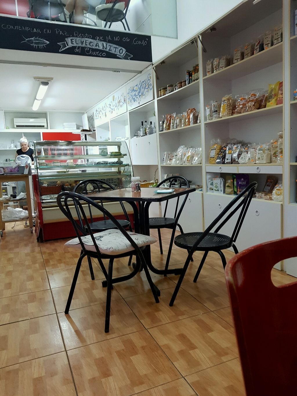 """Photo of El Veganito del Charco  by <a href=""""/members/profile/Disappeared"""">Disappeared</a> <br/>inside the restaurant <br/> November 17, 2017  - <a href='/contact/abuse/image/66328/326532'>Report</a>"""