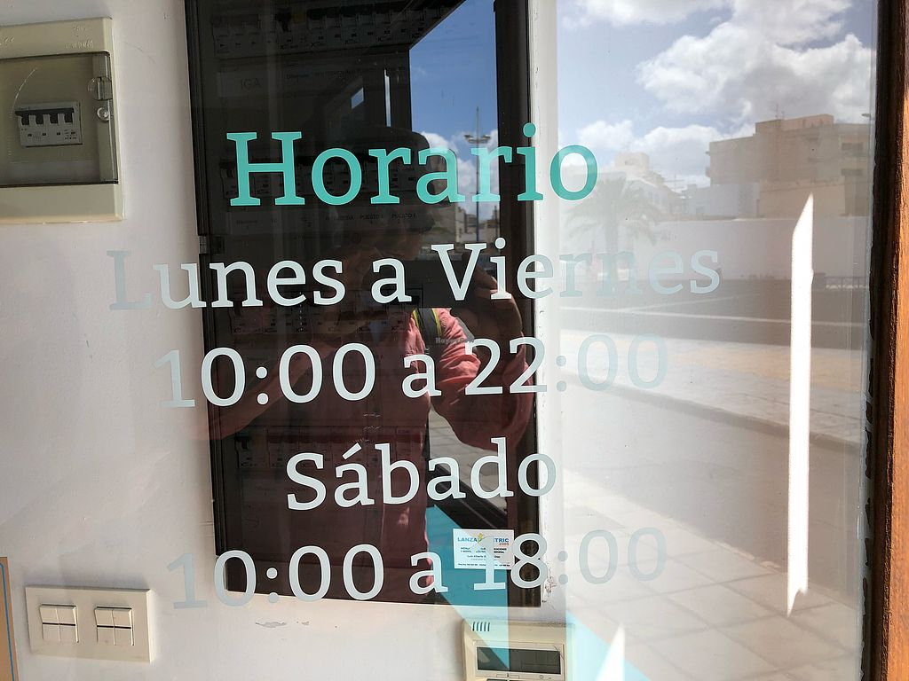 """Photo of El Veganito del Charco  by <a href=""""/members/profile/Lipton-Ice"""">Lipton-Ice</a> <br/>Opening hours <br/> April 8, 2018  - <a href='/contact/abuse/image/66328/382353'>Report</a>"""
