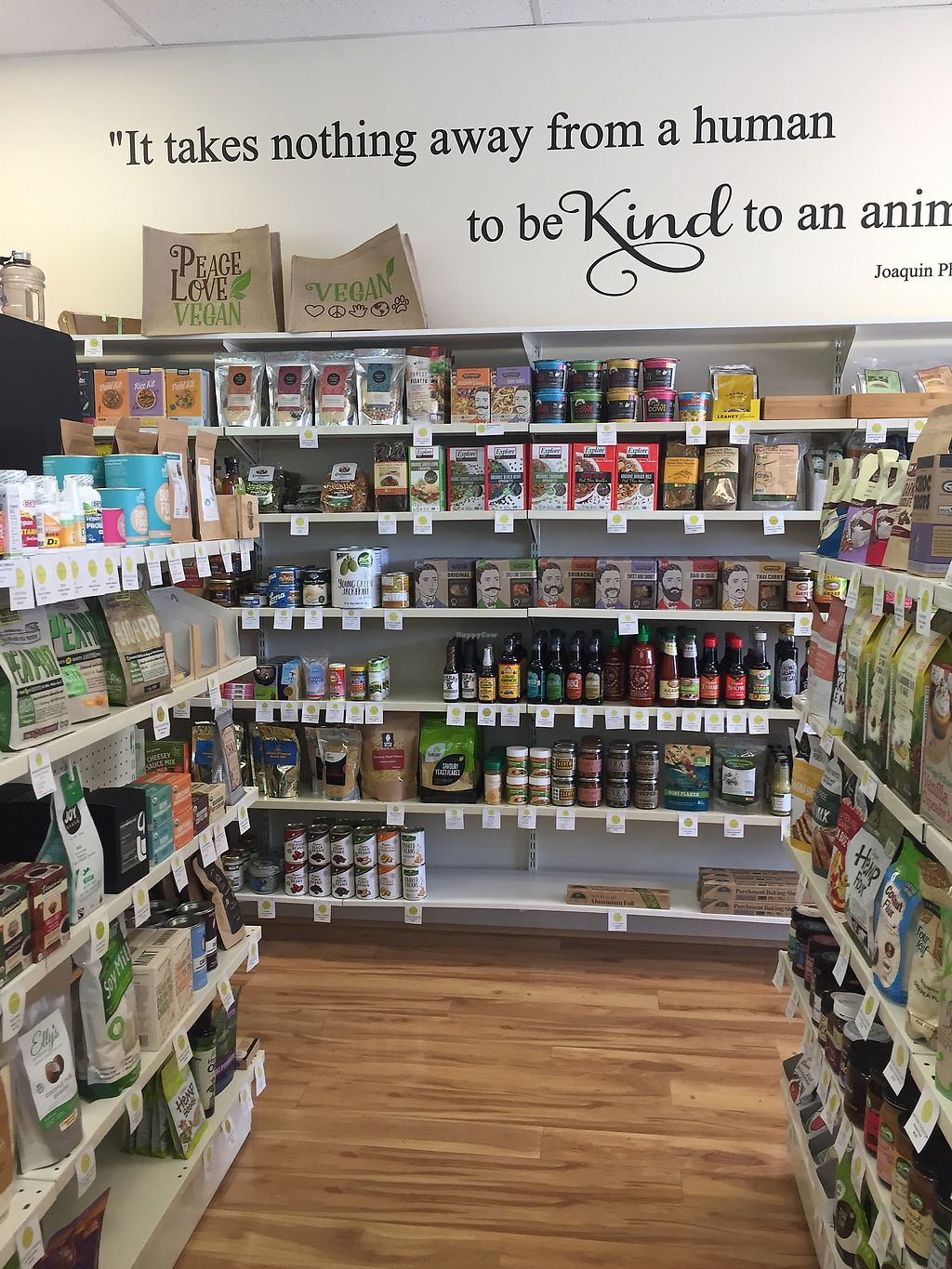 """Photo of La Vida Vegan Grocery  by <a href=""""/members/profile/ExpatAnnie"""">ExpatAnnie</a> <br/>More products <br/> February 1, 2018  - <a href='/contact/abuse/image/66342/353425'>Report</a>"""