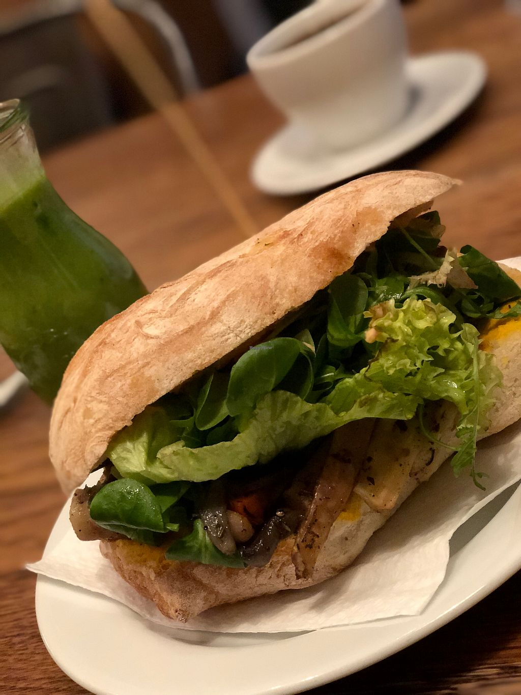 "Photo of Wesola Cafe  by <a href=""/members/profile/Sophiapalmqvist"">Sophiapalmqvist</a> <br/>Grilled veggies sandwich  <br/> January 21, 2018  - <a href='/contact/abuse/image/66343/349309'>Report</a>"