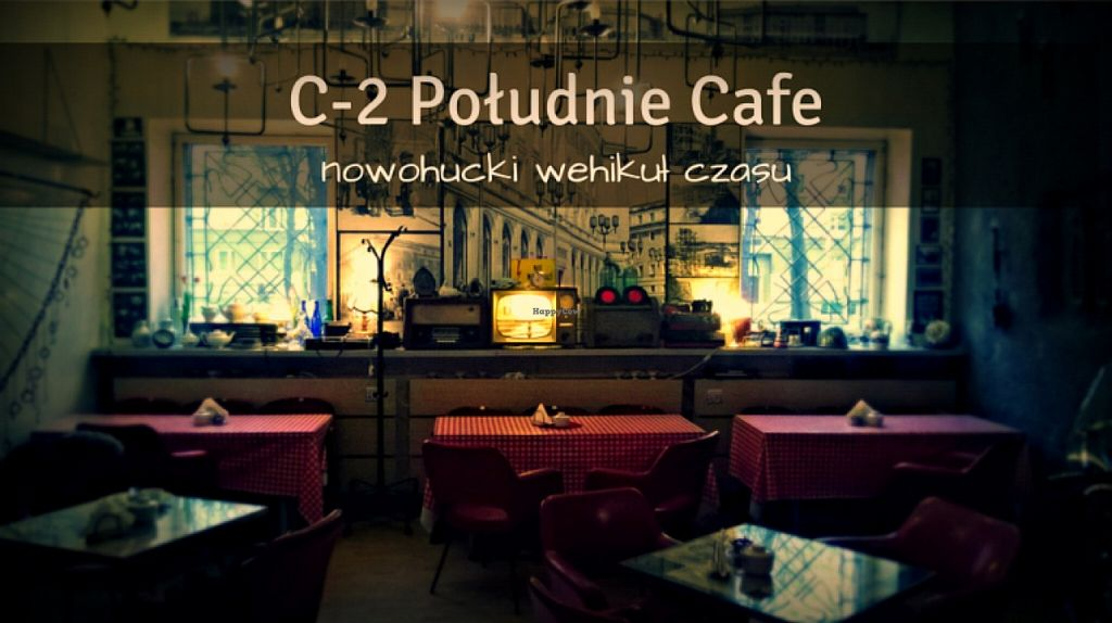 """Photo of C-2 Poludnie Cafe  by <a href=""""/members/profile/RoslinnieJemy"""">RoslinnieJemy</a> <br/>interior <br/> November 29, 2015  - <a href='/contact/abuse/image/66344/126575'>Report</a>"""