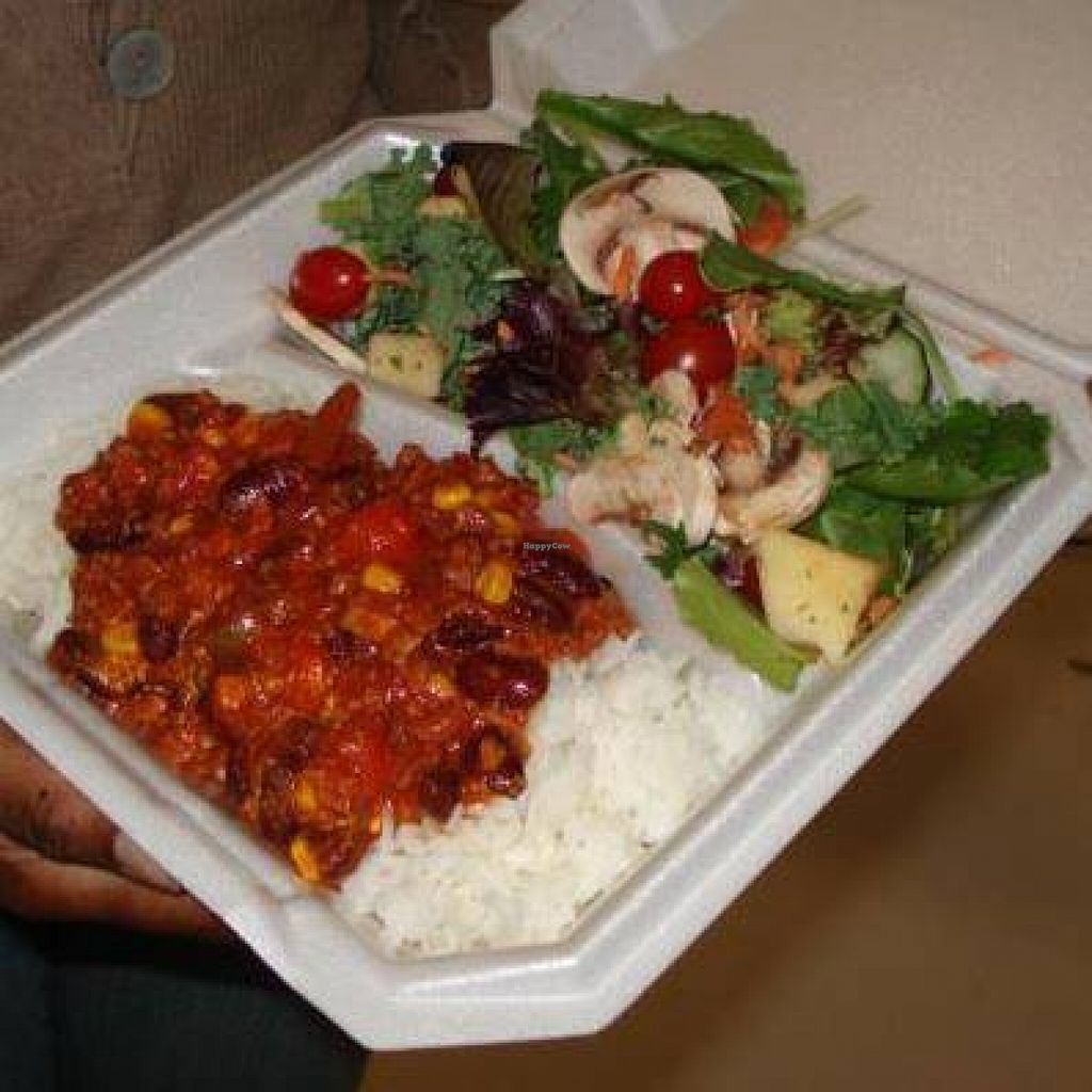 "Photo of Baba's Vegan Cafe  by <a href=""/members/profile/community"">community</a> <br/>packed meal <br/> April 24, 2016  - <a href='/contact/abuse/image/66377/146064'>Report</a>"