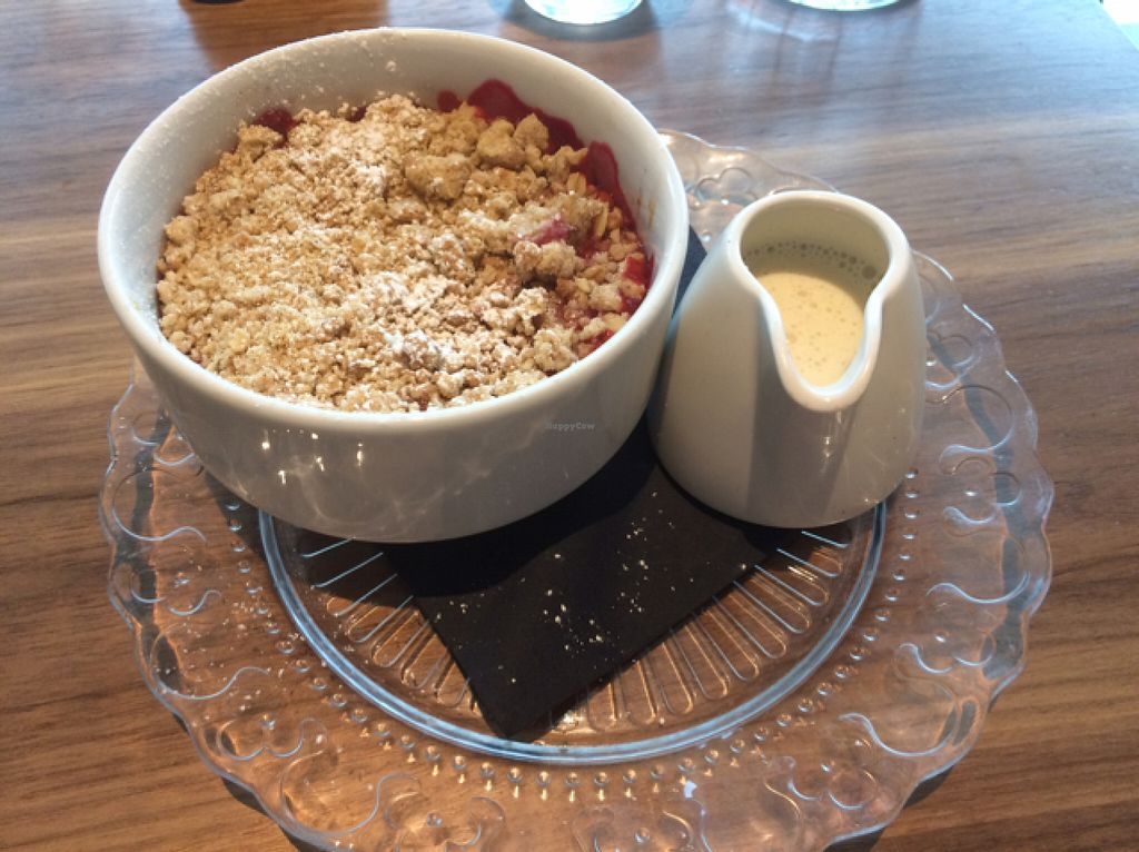 "Photo of Mildred's  by <a href=""/members/profile/Sorkpasen"">Sorkpasen</a> <br/>crumble of the day (rasberry) with home made custard  <br/> June 13, 2016  - <a href='/contact/abuse/image/66389/153768'>Report</a>"