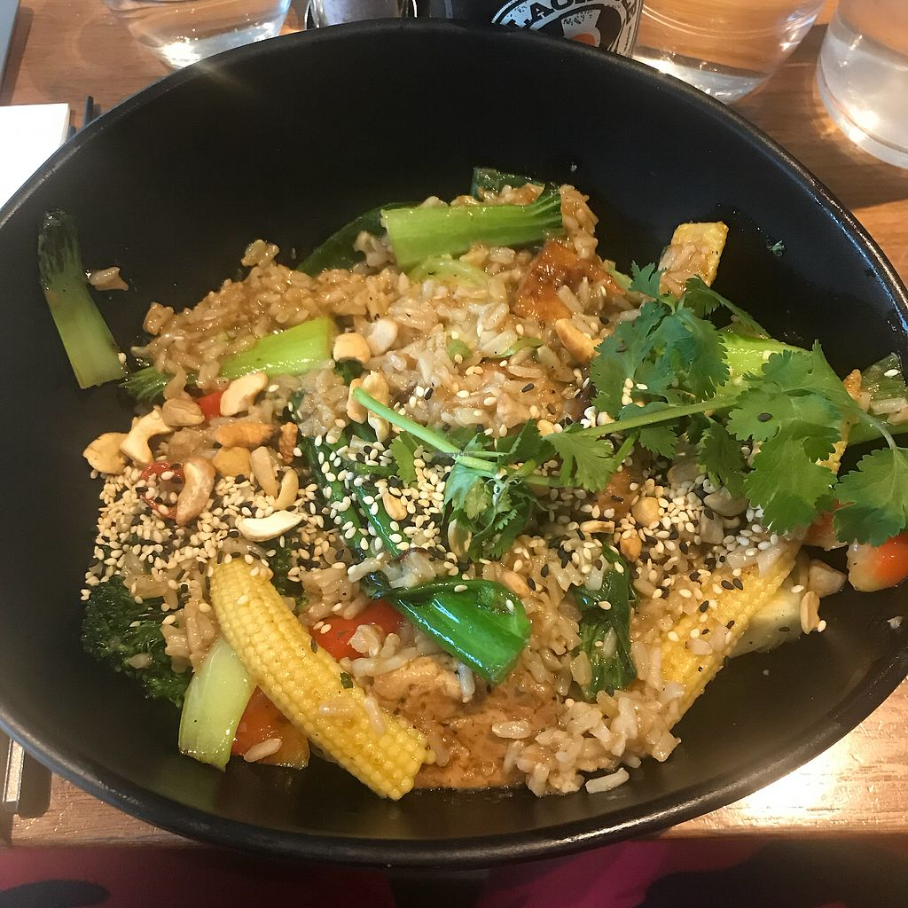 "Photo of Mildred's  by <a href=""/members/profile/Crucifier87"">Crucifier87</a> <br/>Stir vegetables, brown rice and tofu <br/> March 24, 2018  - <a href='/contact/abuse/image/66389/375439'>Report</a>"