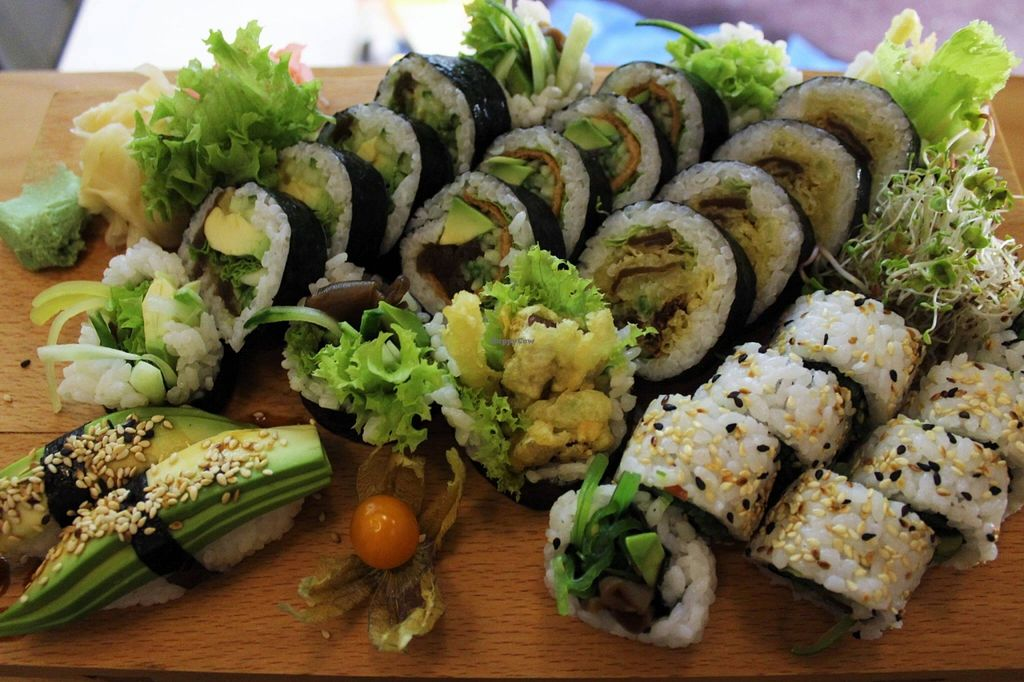 """Photo of Soja Sushi  by <a href=""""/members/profile/Vera%20Peres"""">Vera Peres</a> <br/>Vegan sushi <br/> May 23, 2016  - <a href='/contact/abuse/image/66408/150515'>Report</a>"""
