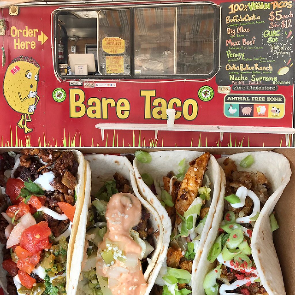 """Photo of CLOSED: Bare Taco - Food Trailer  by <a href=""""/members/profile/ByronSobe"""">ByronSobe</a> <br/>best ever!!!  <br/> May 14, 2017  - <a href='/contact/abuse/image/66423/258862'>Report</a>"""