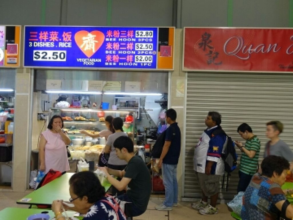 "Photo of Zhai Vegetarian Food  by <a href=""/members/profile/JimmySeah"">JimmySeah</a> <br/>customers queuing to order their food <br/> November 29, 2015  - <a href='/contact/abuse/image/66444/126597'>Report</a>"